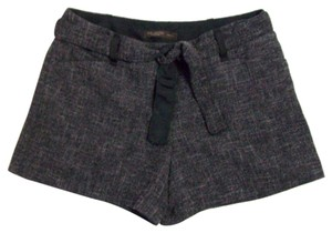 The Limited Drew Fit Belted Dress Shorts Gray