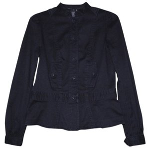 Marc Jacobs Cotton Button Down Shirt Black