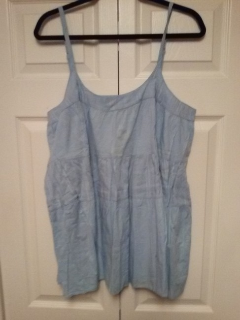 6c1ab1b00bc85 Old Navy Light Blue Tank Top Cami Size 18 (XL
