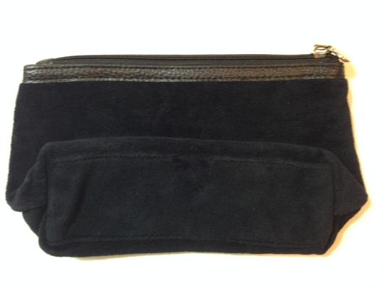 Juicy Couture Juicy Couture Black Velvet Cosmetic Bag