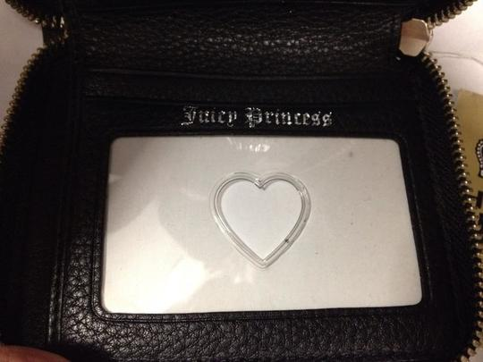 Juicy Couture Juicy Couture Black Suede Wallet