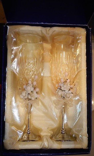 Elégance Clear Crystal Champagne Flutes