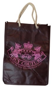 Juicy Couture Canvas Tote in Brown