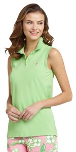 Lilly Pulitzer T Shirt Green Pink