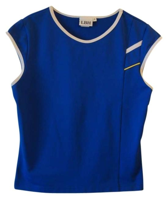 Preload https://item1.tradesy.com/images/lbh-tennis-royal-blue-white-yellow-top-activewear-sportswear-size-6-s-28-154660-0-0.jpg?width=400&height=650