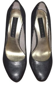 Steven by Steve Madden Grey metallic Platforms