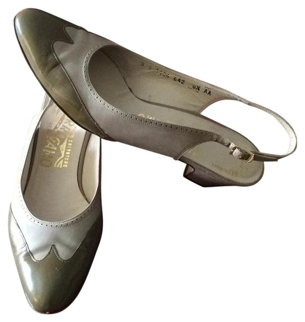 Item - Olive Green Sale Made In Italy Pumps Size US 6.5 Narrow (Aa, N)
