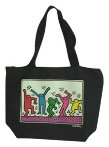Keith Haring Foundation Tote in Black