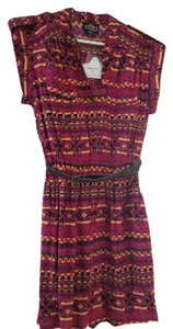 Angie short dress Tribal Print Belted on Tradesy