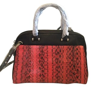 MILLY Satchel in PINK AND BLACK