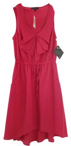 BeBop short dress Pink Pocketed on Tradesy