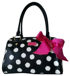 Betsey Johnson Fall Satchel in BLACK
