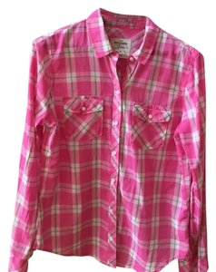 Abercrombie & Fitch Top Pink Multi