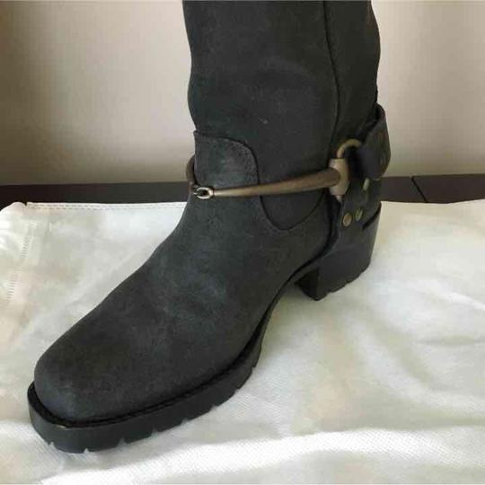 Gucci Suede Black Boots Image 1