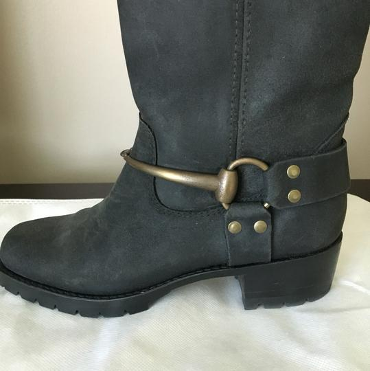Gucci Suede Black Boots Image 3