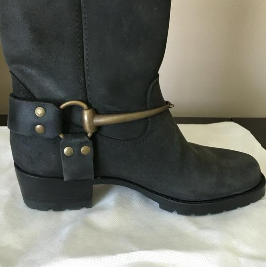 Gucci Suede Black Boots Image 4