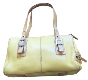 Kenneth Cole Satchel in Yellow