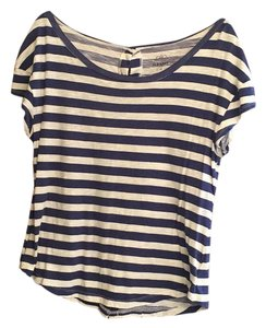 Old Navy T Shirt Navy white