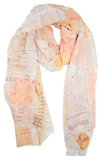"John Galliano NWT AUTHEN JOHN GALLIANO 100% SILK MULTICOLOR HUGE 26"" x 69"" SCARF MADE IN ITALY"