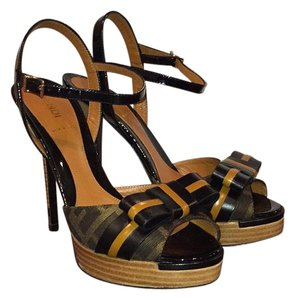 Fendi Dark brown Platforms