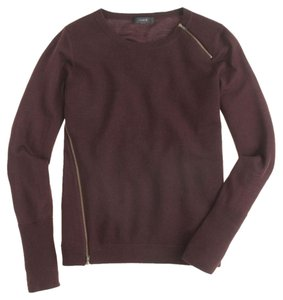 J.Crew Merino Wool Fall Zippers Sweater