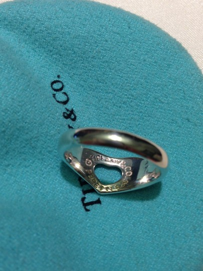 Tiffany & Co. Tiffany & Co. Elsa Peretti 925 Sterling Silver Open Heart Ring Size 6