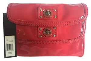 Marc by Marc Jacobs Patent Leather Italian Versatile Casual Spring Cherry Red Clutch