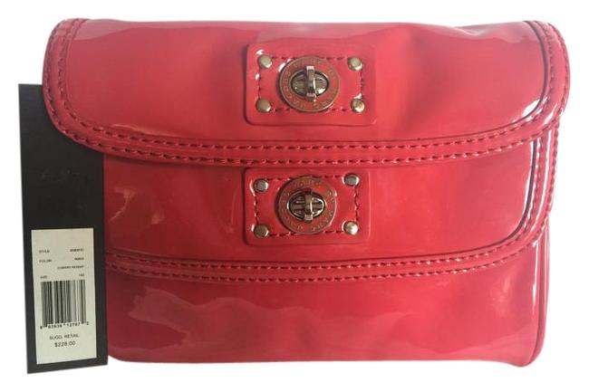 Item - Totally Turnlock Cherry Red Patent Leather Clutch
