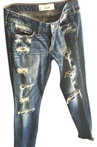 Hollister Straight Leg Jeans-Distressed