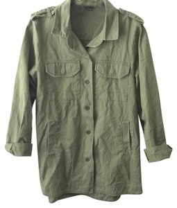 Elodie Button Down Shirt Green