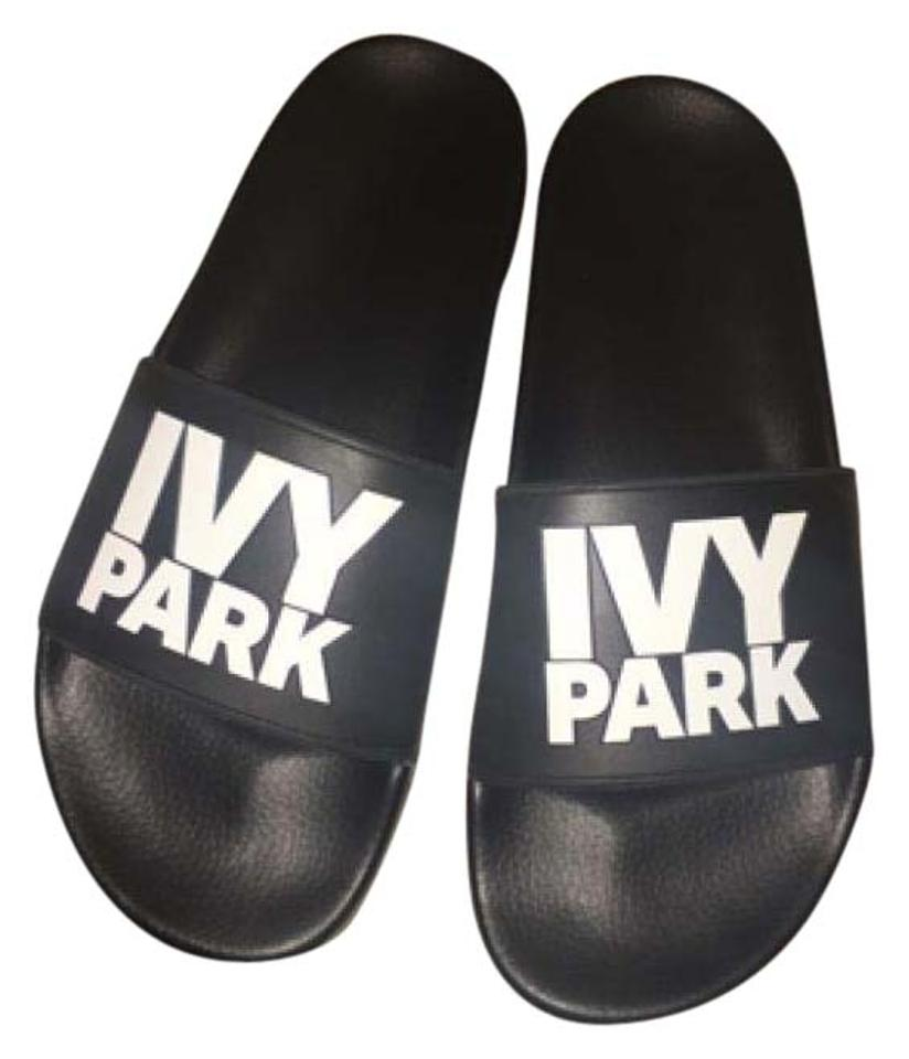 Ivy Sandals Park Black and White Sandals Ivy 5baae2