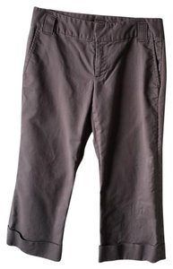 Banana Republic Capris Gray.