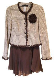 Anne Klein Skirt Brown