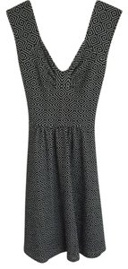 Anthropologie short dress Navy on Tradesy