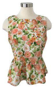 Forever 21 Peplum Top Floral