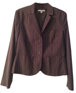 CAbi Clothing Jacket Nob Hill Nob Hill Jacket Casual Cute Pinstripe Semiformal grey Blazer