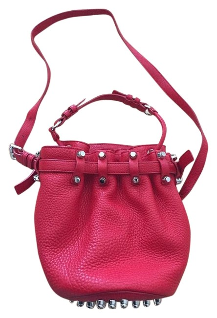 Item - Diego Cult Red Leather Cross Body Bag