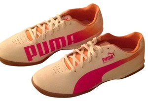 Puma Junior Pink White Orange Athletic