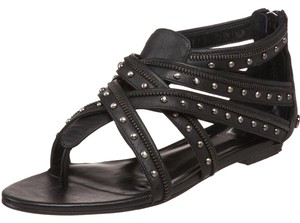 Velvet Angels Black Sandals
