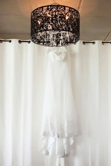 Wtoo Ivory English Net & Lace Marguerite Gown Style #12360 Wedding Dress Size 6 (S)