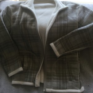 Checkered grey and white Jacket