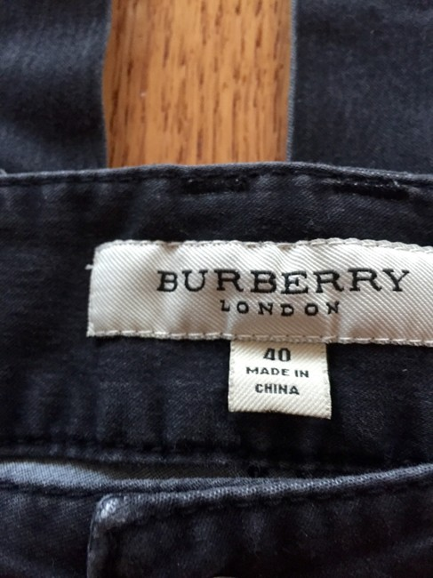 Burberry Size 40 Skinny Jeans-Distressed Image 1