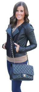 Anthropologie Leather black Leather Jacket