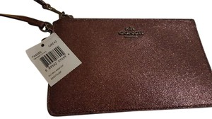 Coach Wristlet in Metallic Cherry