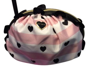 Betsey Johnson Betsey Johnson Ruffled Cosmetic Bag Brand New