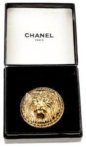 Chanel Chanel Gold Lion Brooch