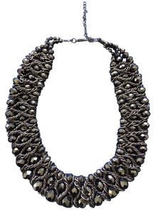 Mixit Black Chocker Necklace
