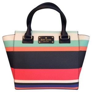 Kate Spade Satchel in Tripical Stripes