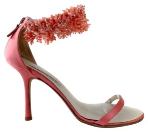 Oscar de la Renta Pearls Coral Formal