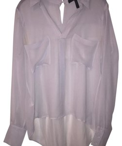 BCBGMAXAZRIA Top Gray